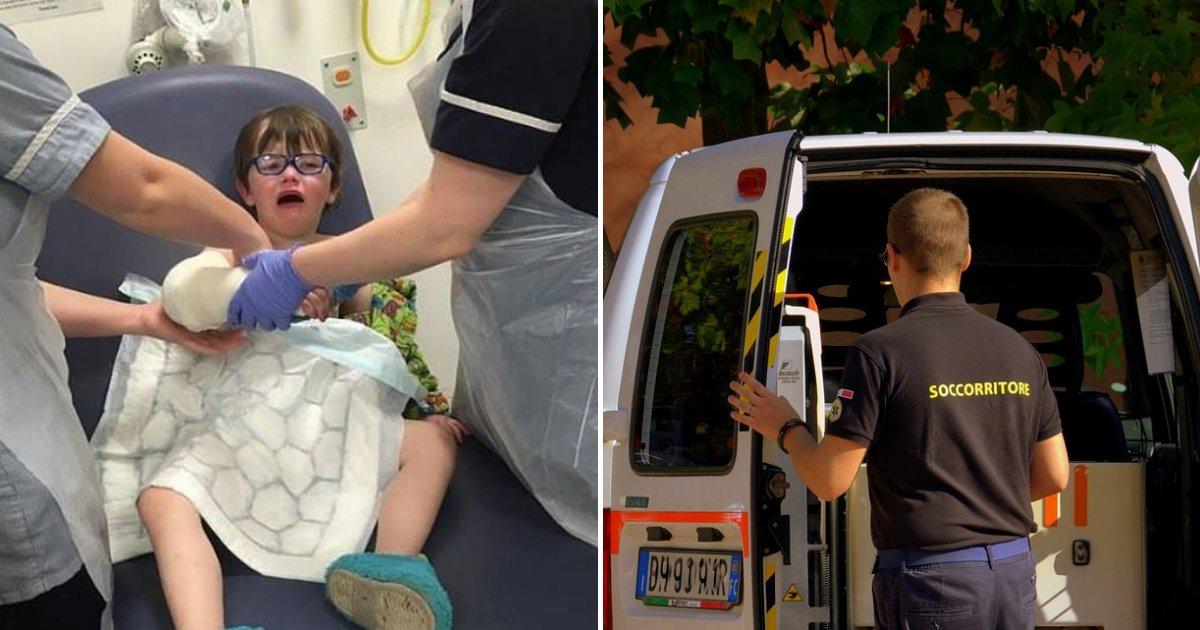 untitled design.png?resize=300,169 - Une mère furieuse après que son fils de 4 ans qui s'est cassé le poignet a dû attendre 9 heures pour une ambulance