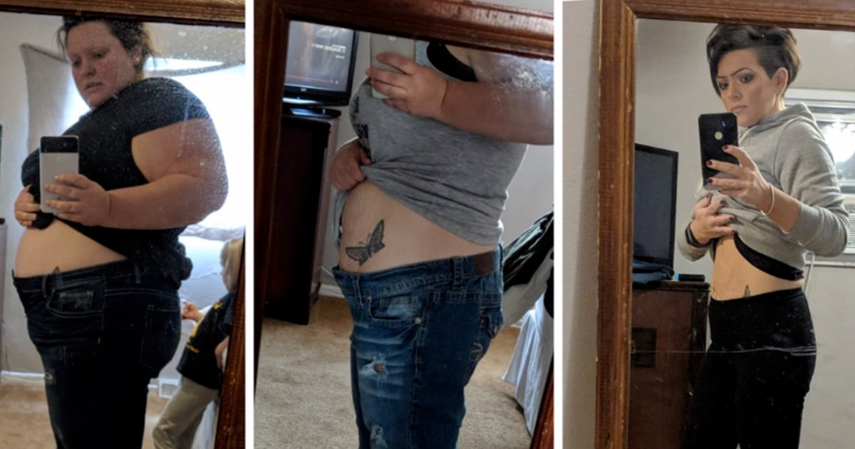 vvv.jpg?resize=1200,630 - A Woman Lost More Than 150 Pounds In One Year Using One Simple Trick