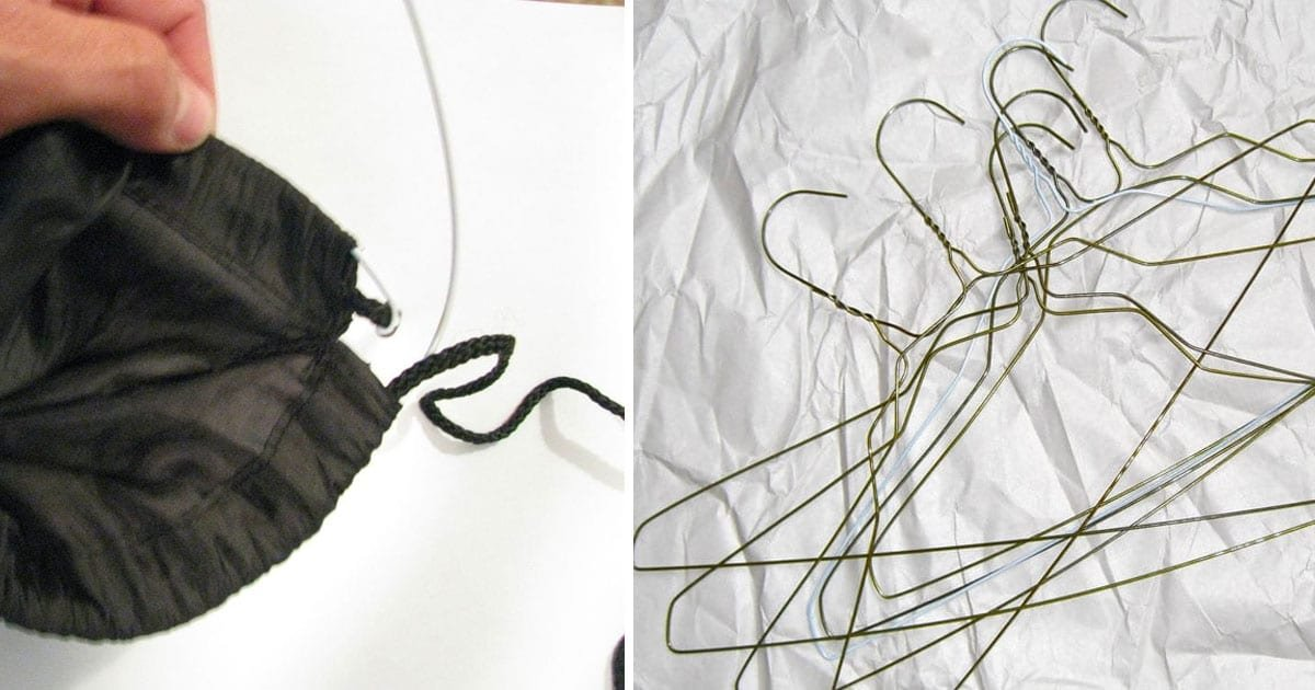 wire hangers use 1.jpg?resize=412,275 - 40+ Extremely Clever But Weird Ways To Organize Your Cramped Apartment