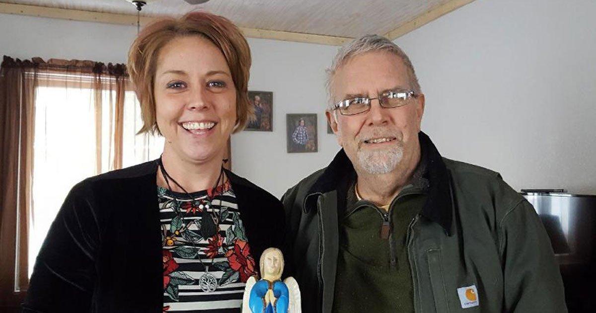 woman donated kidney firefighter.jpg?resize=412,232 - Une femme a fait don de son rein au pompier qui a sauvé la vie de sa fille