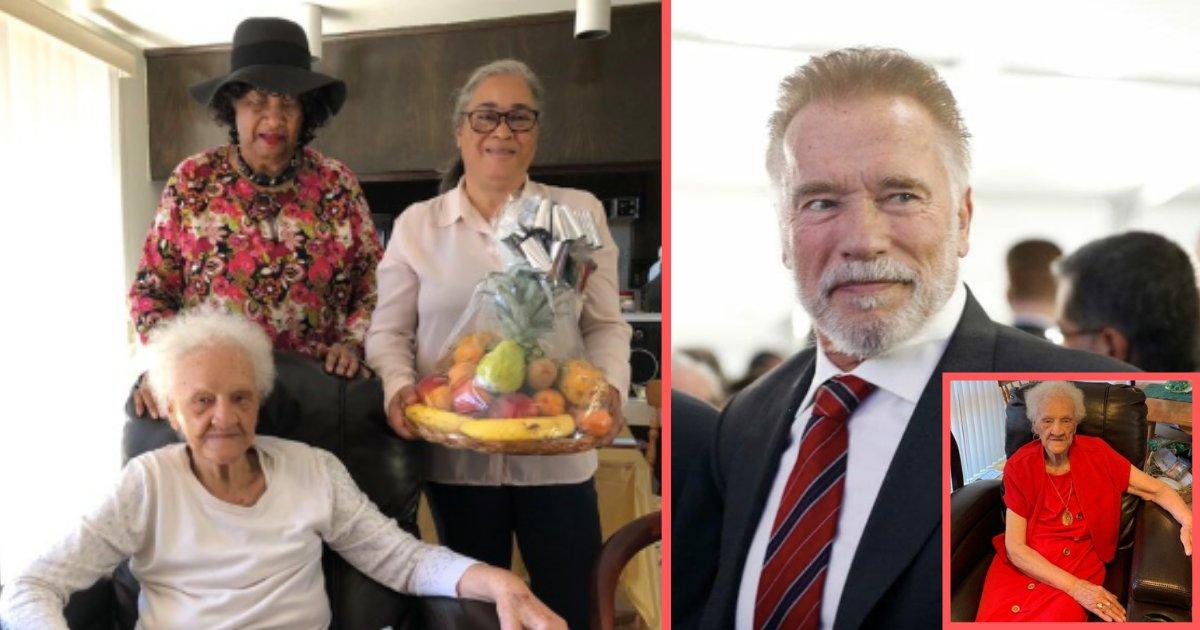 y2 16.png?resize=412,232 - Arnold Schwarzenegger offre son soutien à une femme de 102 ans qui a été forcée de quitter son domicile dans lequel elle vit depuis 30 ans