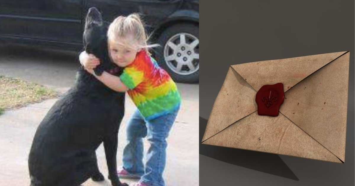 y4 10.png?resize=1200,630 - Young Girl's Dog Died and She Wrote A Letter to God and Surprisingly Received A Letter In Return