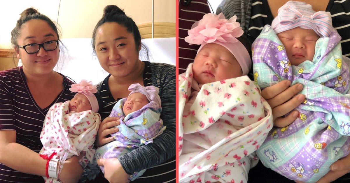 y4 16.png?resize=412,232 - Des mères jumelles identiques ont donné naissance à leurs bébés le même jour