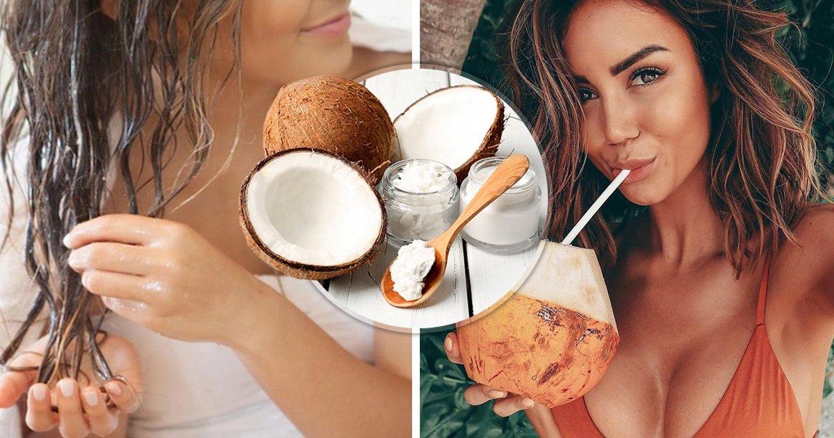 1 252.jpg?resize=412,232 - 5 Formas de aprovechar el aceite de coco y tener una melena IMPECABLE