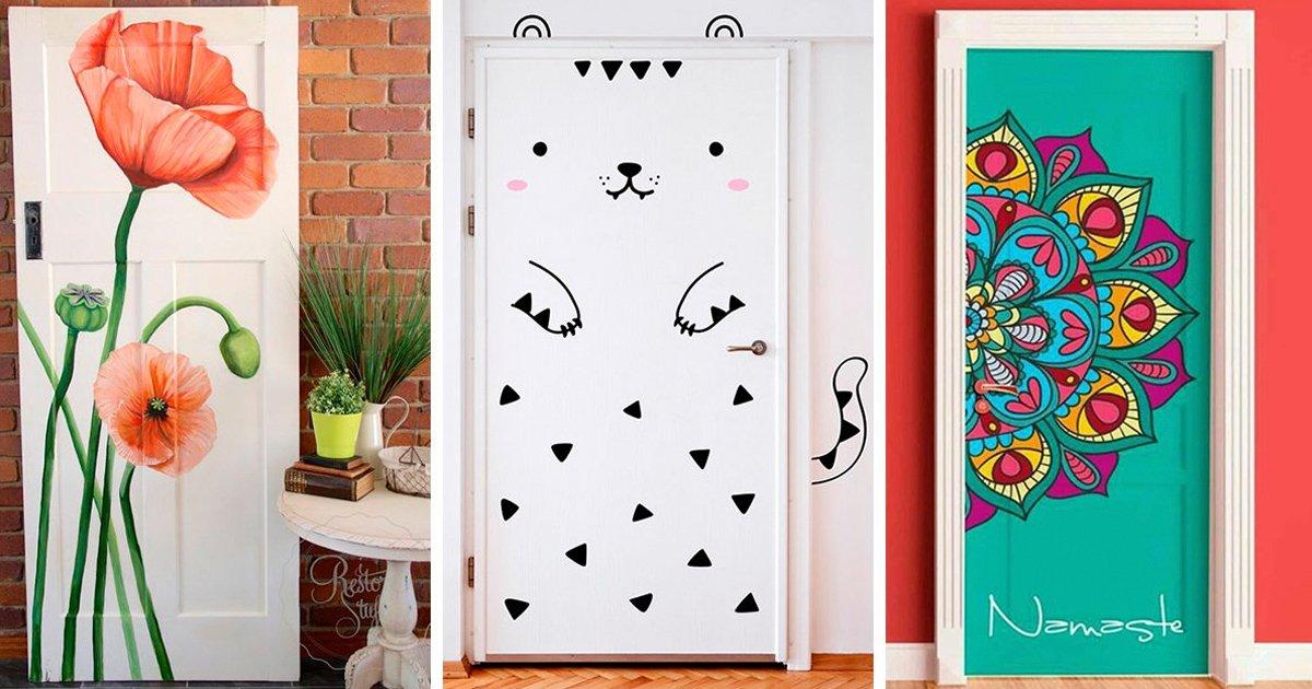 10 23.jpg?resize=1200,630 - 15 Originales ideas para decorar la puerta de tu habitación