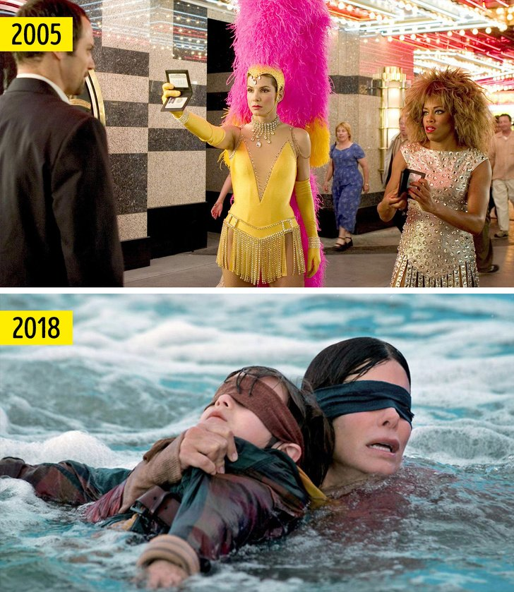 14 Actores y actrices que triunfaron en películas de un género inusual para ellos