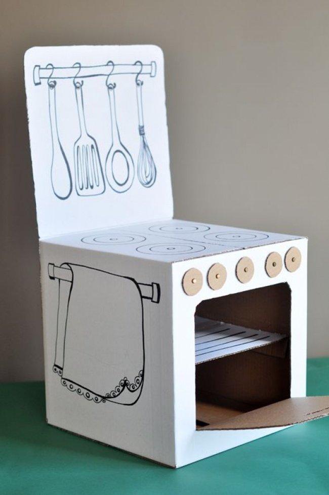 15Ideias simples para usar caixas depapelão nadecoração