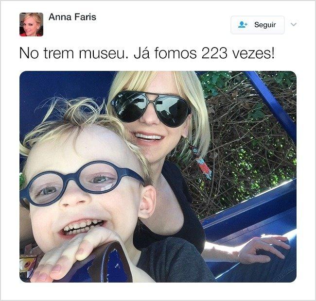 17Tuítes que mostram que osfamosos também sofrem nahora deter filhos