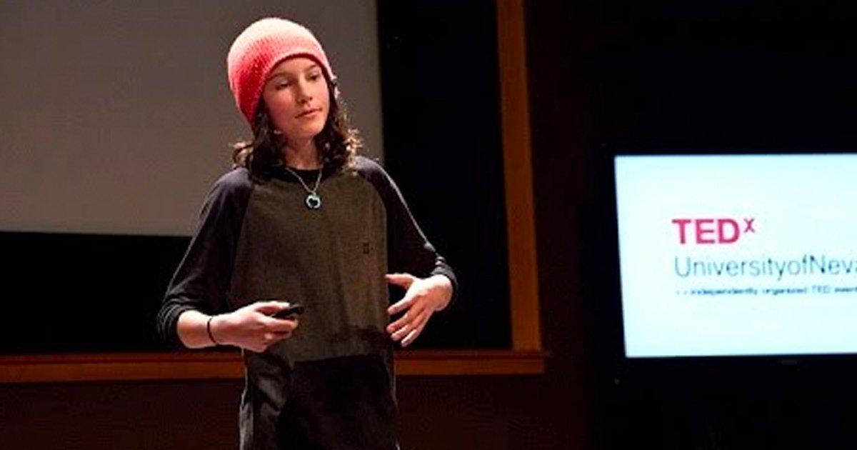 2 107.jpg?resize=1200,630 - Un niño de 13 años contó en una charla TED lo que los adolescentes necesitan, y obtuvo más de 10 millones de visitas