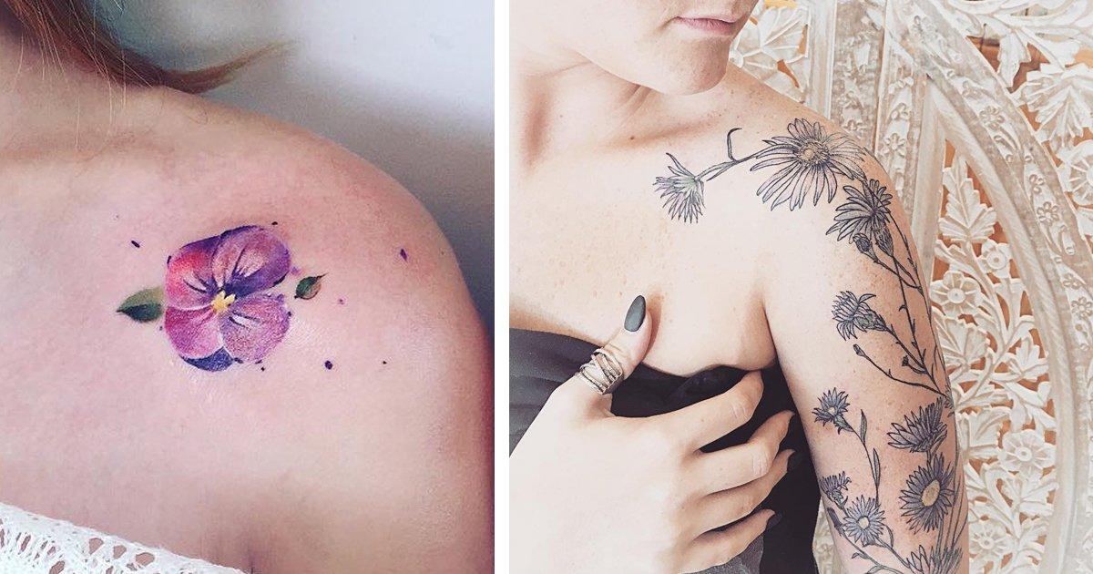 2 323.jpg?resize=412,232 - 12 Tatuajes de flores que te brindarán protección según tu mes de nacimiento