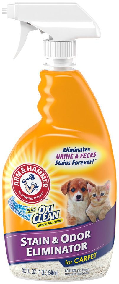 """Promising review: """"This is really a great product. It works great on pet stains, just spray on and the stain disappears. It is the best product I have found that really works as advertised."""" —Sheba24641Price: .90"""
