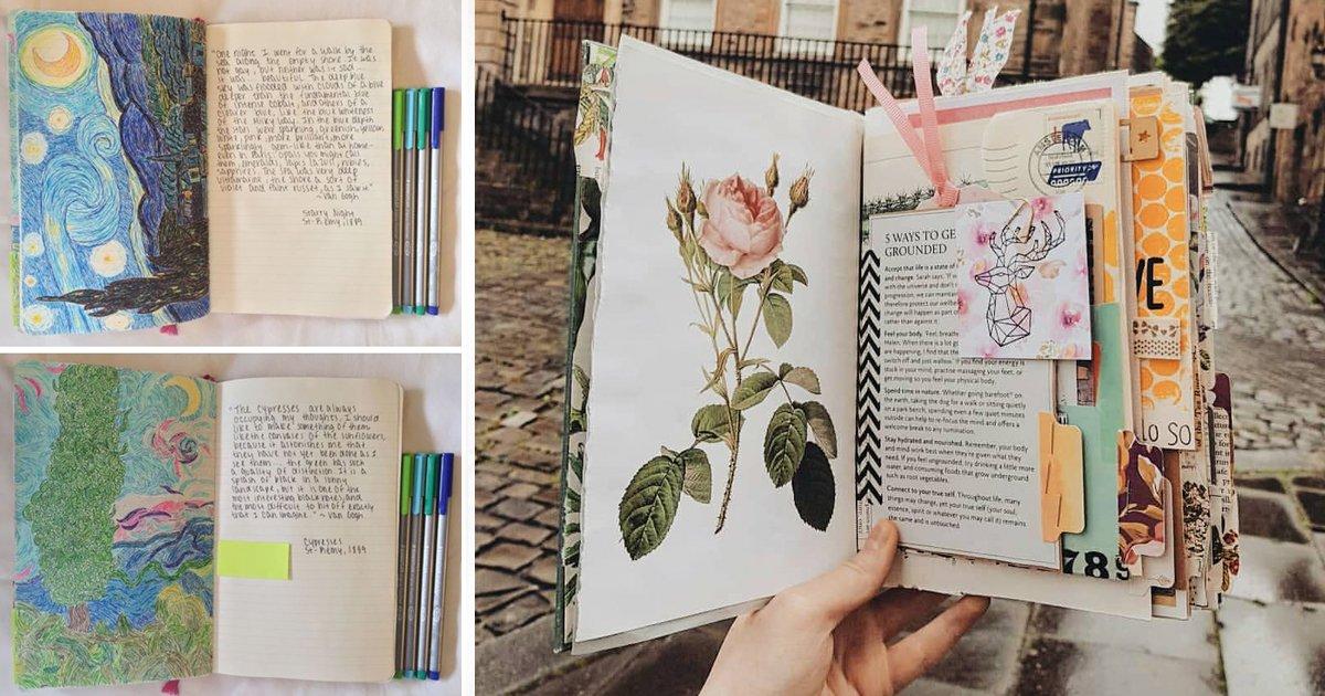4 154.jpg?resize=412,232 - 13 Ideas HERMOSAS para decorar tu agenda o diario
