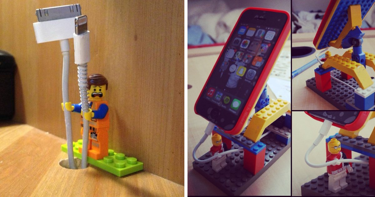 6 100.jpg?resize=412,232 - 15 Veces que las figuras Lego fueron mucho más allá de ser juguetes