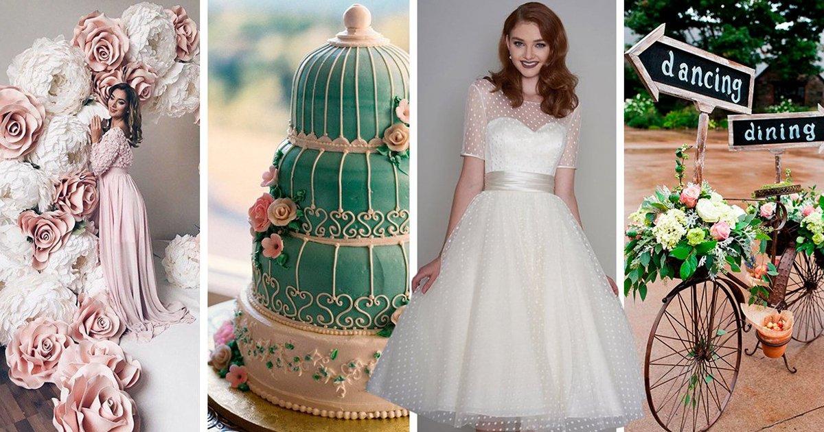 7 39.jpg?resize=1200,630 - 14 Sencillas ideas para decorar tu fiesta de XV años al estilo vintage