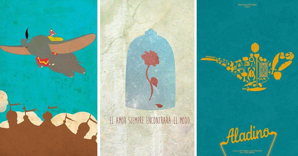 9 33.jpg?resize=1200,630 - 15 Posters de los clásicos de Disney que te harán recordar tu infancia