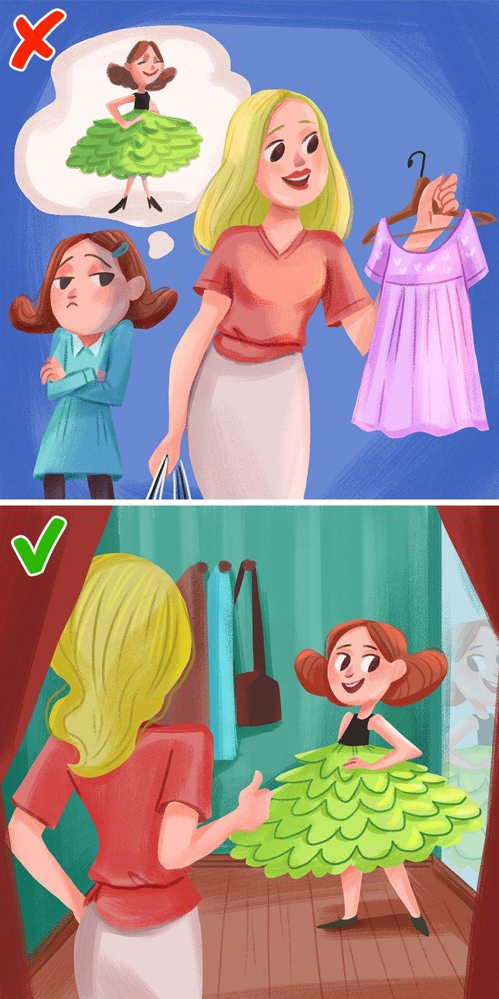 9Errores que solemos cometer aleducar auna niña