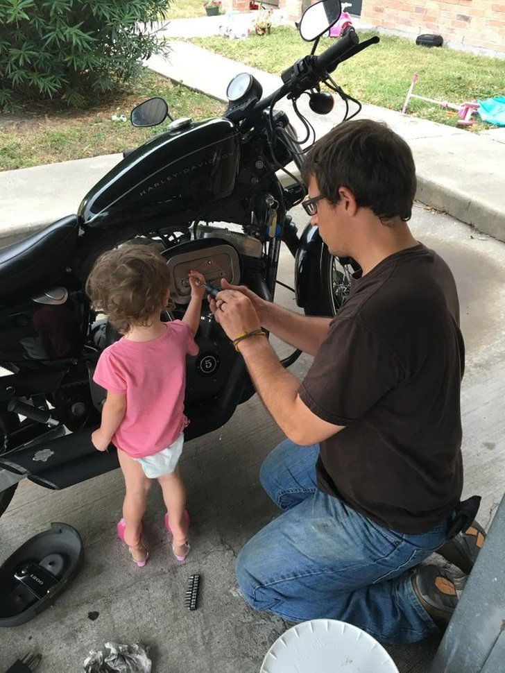 20 Momentos que mostram como a relação entre pai e filha é tão especial
