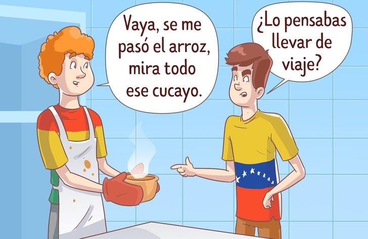 15 Palabras del español que tienen significados muy distintos en cada país