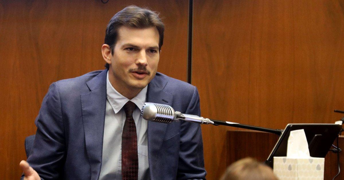 """a.jpg?resize=412,232 - Ashton Kutcher """"paniqué"""" après la découverte de l'assassinat de sa petite amie, l'acteur témoigne à une audience"""