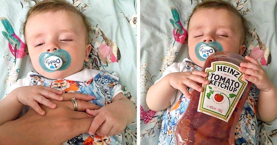 """a1 2.jpg?resize=412,232 - 25 Fotos que mostram os """"desafios"""" que os pais jovens tem ao ter um filho."""