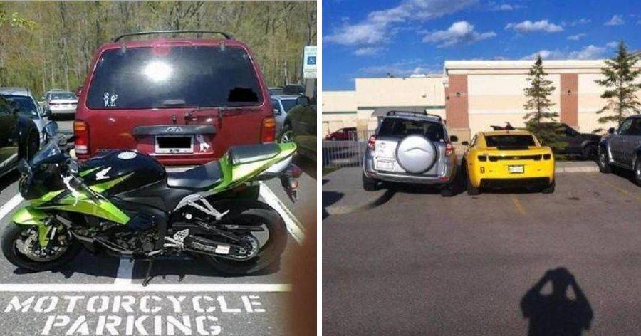 a1 4.jpg?resize=1200,630 - 11 Momentos nos quais foi bem satisfatório se vingar de quem estaciona feito um idiota