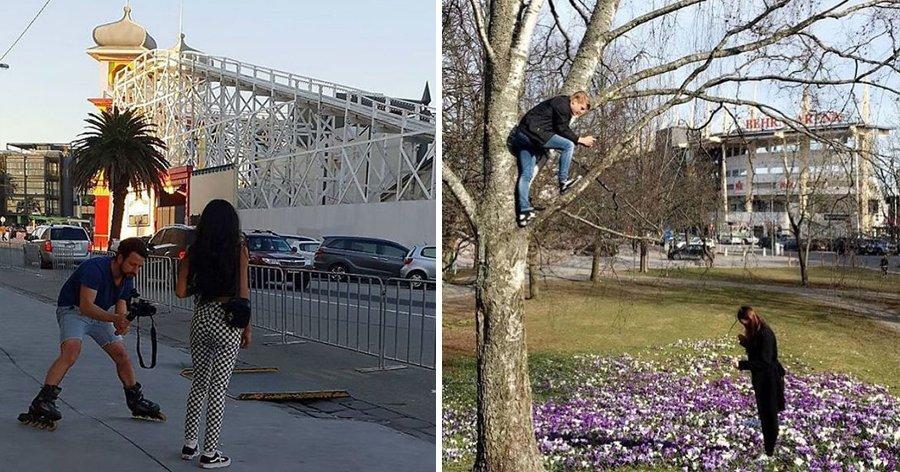 """a11.jpg?resize=1200,630 - 25 Fotos hilárias de namorados """"forçados"""" a tirarem fotos de suas namoradas"""