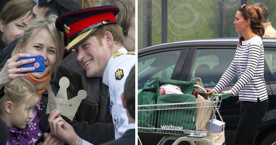 a5 13.jpg?resize=412,232 - 19 Fotos provando que os membros da família real são iguais a nós