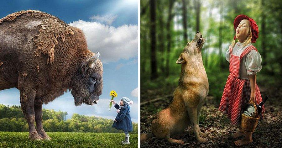a9 14.jpg?resize=412,232 - Esse pai super criativo manipulou as fotos de suas filhas e criou um incrível mundo de fantasia para elas