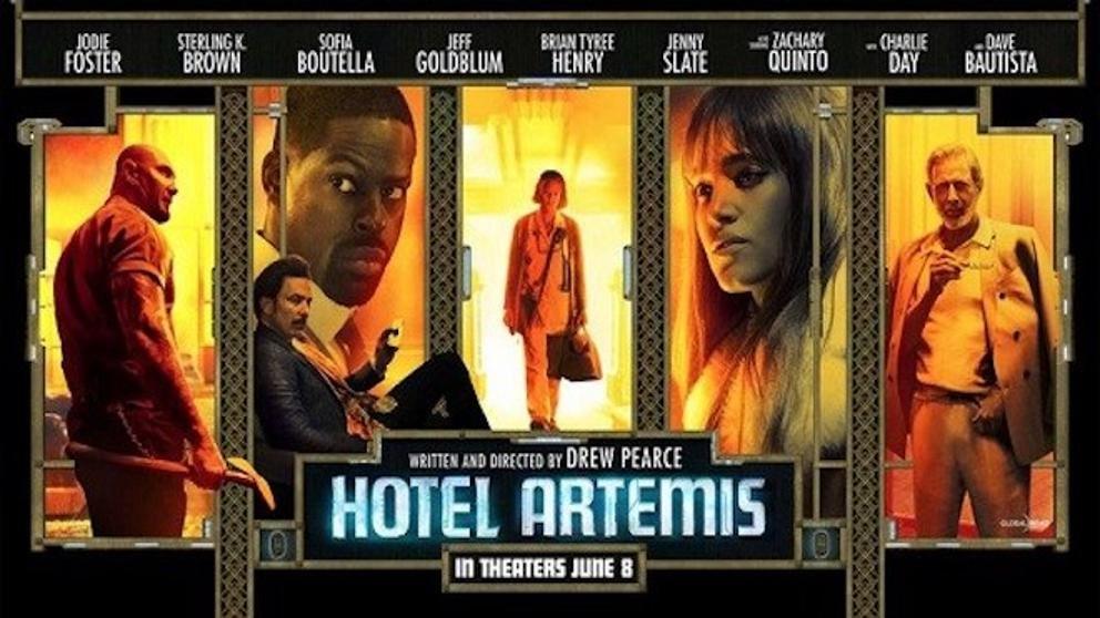 Resultado de imagen de HOTEL ARTEMIS pelicula
