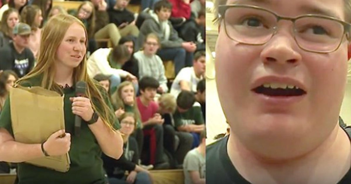 b3.jpg?resize=412,232 - High School Students Surprised Their Blind Classmate With A Braille Yearbook They Spent 1,500 Hours Making