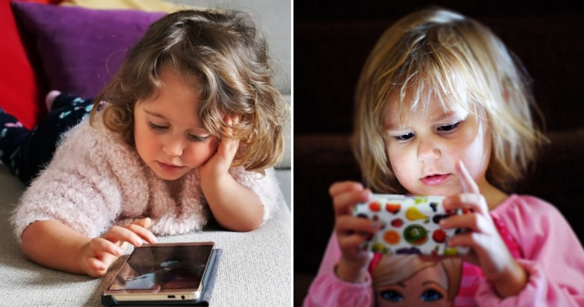 child5.png?resize=1200,630 - 2-Year-Old Girl Developed Severe And Irreversible Eye Condition After Parents Let Her Play On Smartphone Every Day
