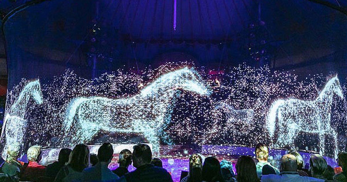 circus holograms animals.jpg?resize=412,232 - Un cirque allemand utilise des hologrammes au lieu d'utiliser des animaux vivants pour prévenir la cruauté envers les animaux