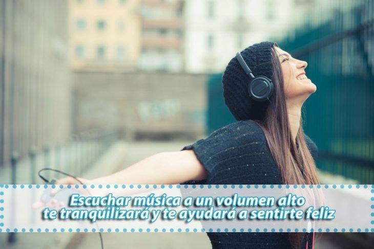 escuchar musica te pone de buenas