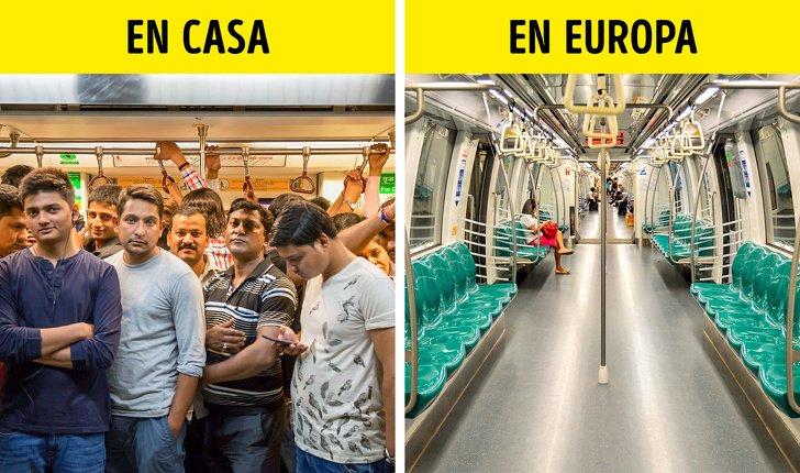 12Cosas que sorprenden alos latinos cuando visitan Europa