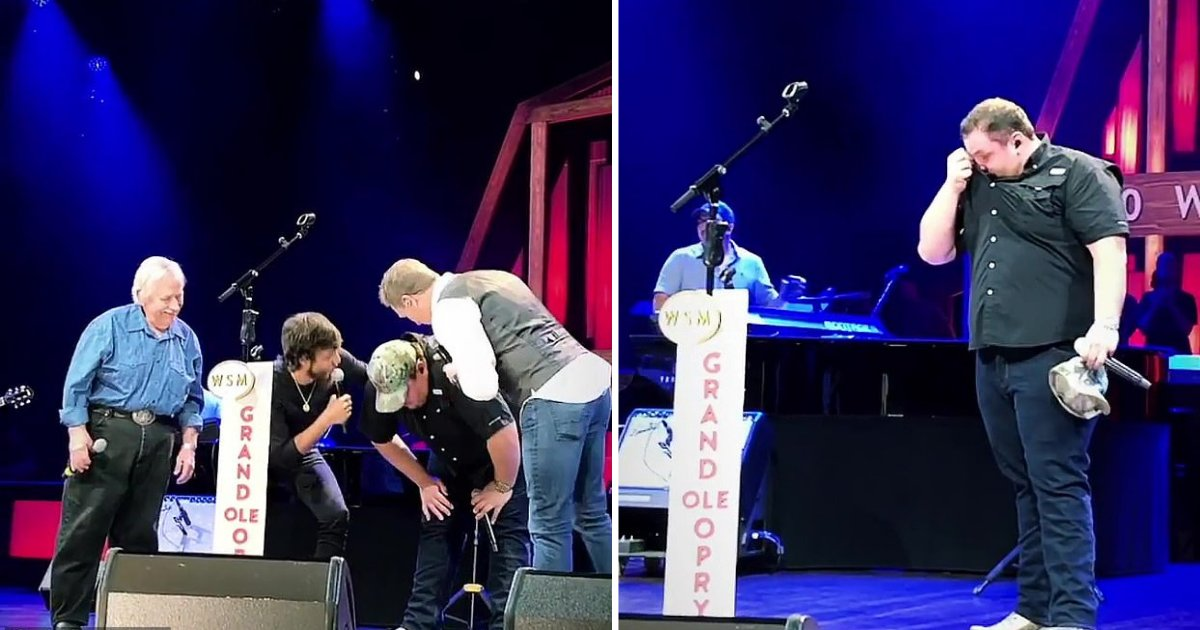 d1 9.png?resize=412,232 - Luke Combs Got Emotional After Getting a Surprise Invitation to Join the Grand Ole Opry