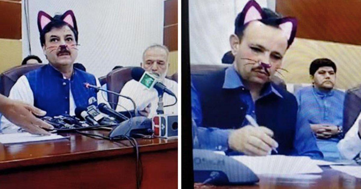 d2 11.png?resize=1200,630 - Tout en étant sur Facebook, des représentants du gouvernement pakistanais ont accidentellement activé le filtre Chat.