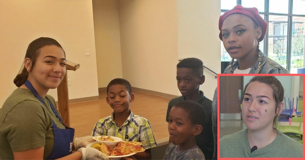 d4 4.png?resize=412,232 - Une adolescente lance une pizza-party pour les personnes dans le besoin en abandonnant sa propre fête de remise des diplômes