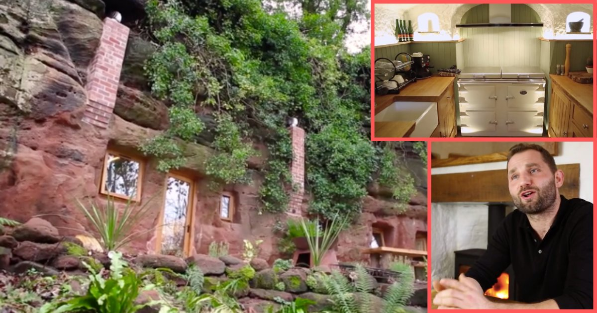 d5 15.png?resize=1200,630 - Un homme a construit une maison de 204 000 € dans une grotte vieille de 700 ans