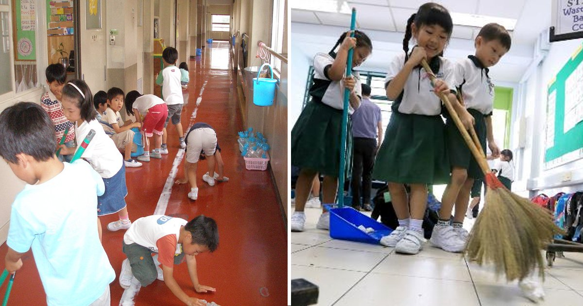 dgsgsgs.jpg?resize=1200,630 - In Japan The Kids Clean Their School Classrooms And Toilets And The Reason Will Make You Appreciate This Habit