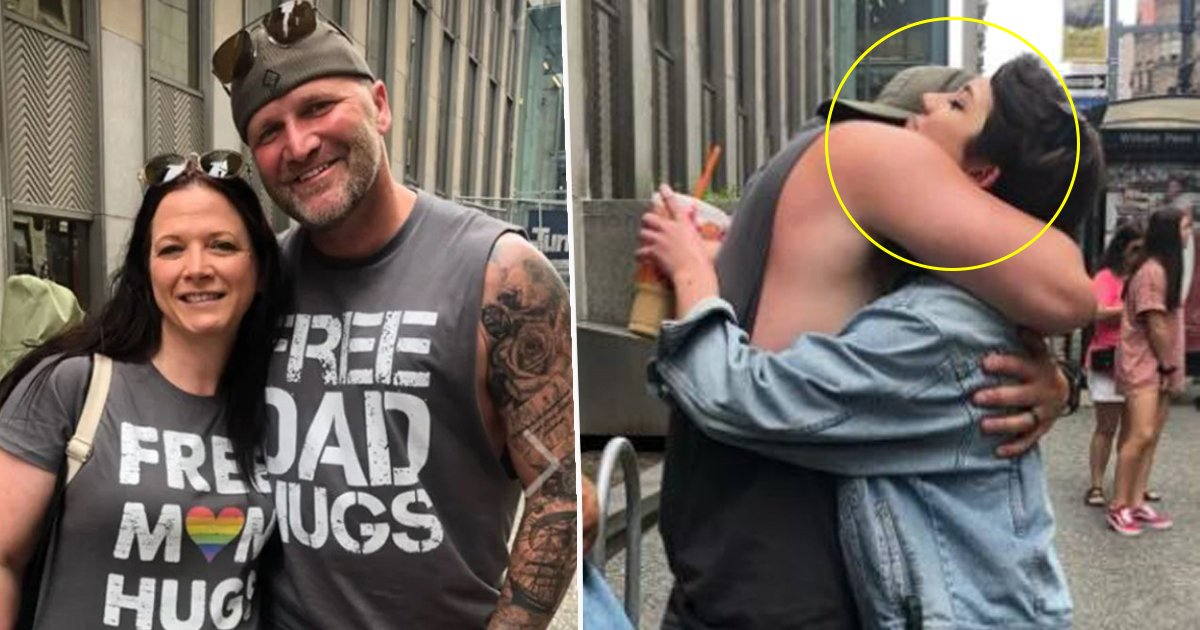 """dsds.jpg?resize=412,275 - A Dad Decided To Go To A Pride Parade Wearing """"Free Dad Hugs"""". What Happened Next Will Break Your Heart"""