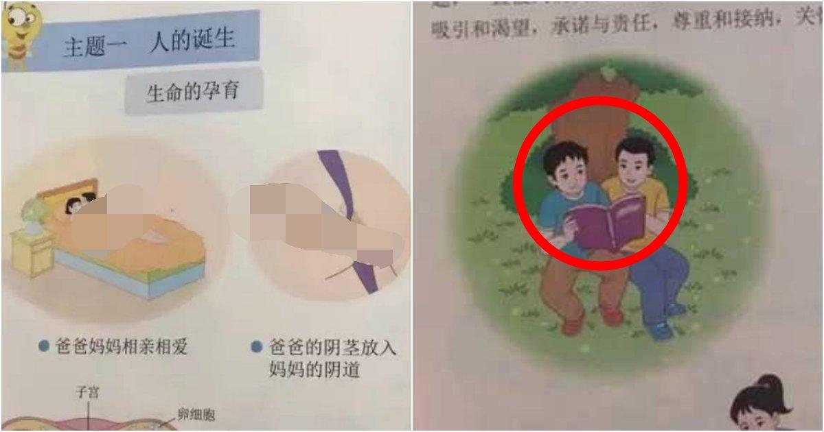 """e38587e384b4e384b9e3858e.png?resize=412,232 - """"솔직해도 너무 솔직해"""" ... '학부모들' 당황시킨 중국 초등학교 '성교육' 교과서 수준"""