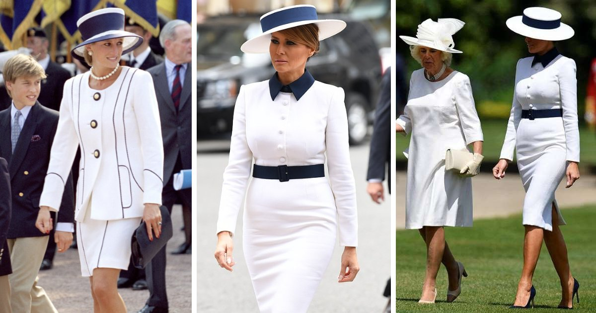 featured image 10.png?resize=1200,630 - Melania Trump Paid Tribute To Late Princess Diana As She Arrived At Buckingham Palace