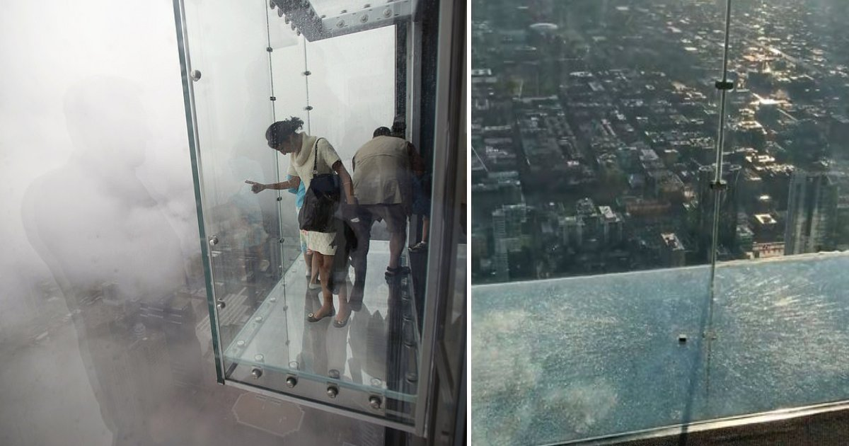 featured image 44.png?resize=412,275 - Glass Skydeck On 103rd Floor Of Chicago Willis Tower Cracked Beneath Tourists' Feet