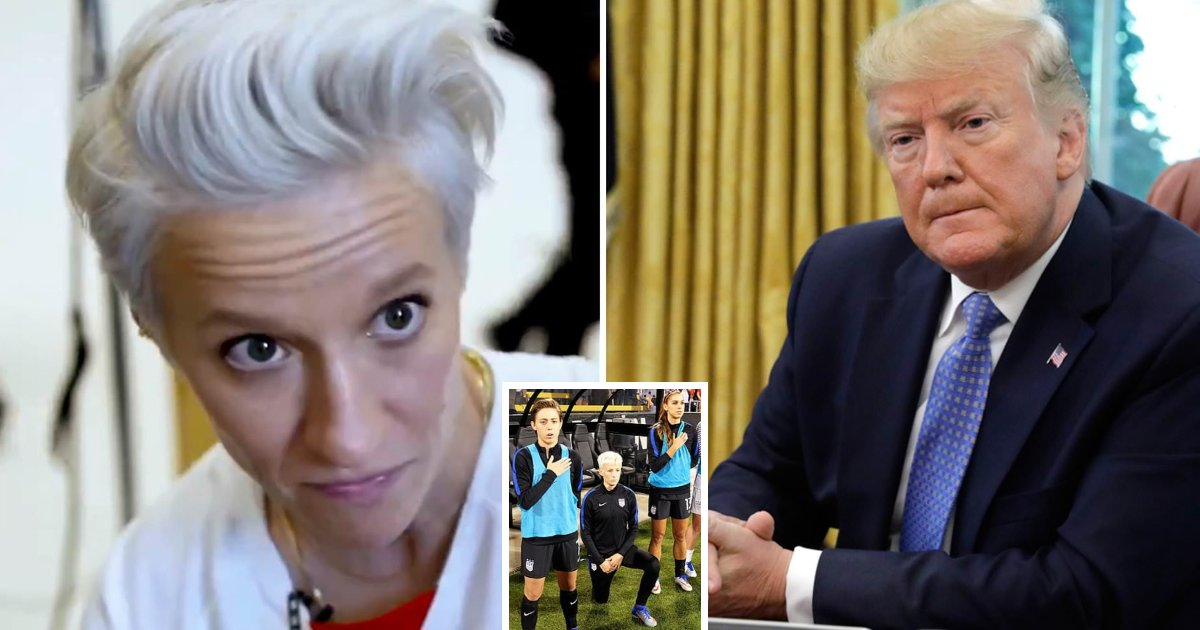 featured image 69.png?resize=1200,630 - US Soccer Star Megan Rapinoe Said She Won't Accept Trump's Invitation To The White House If They Win The World Cup