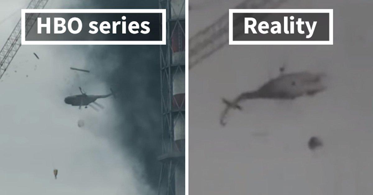 ggg 1.jpg?resize=300,169 - Un artiste a fait une comparaison entre le vrai Tchernobyl et la série HBO pour montrer à quel point les réalisateurs de la série ont fait un travail magnifique