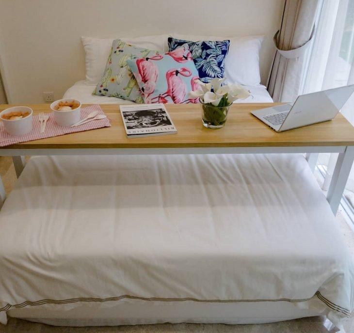 escritorio de cama