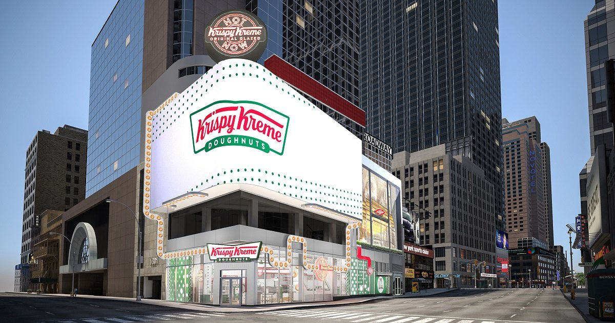 k3 1.jpg?resize=412,232 - Krispy Kreme's Soon-To-Open Times Square Store Is A Donut Connoisseur's Dream, Complete With A Massive Glaze Waterfall