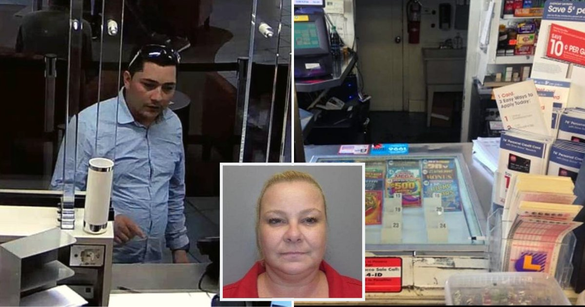 lotto2.png?resize=1200,630 - Clerk Tells Man Winning Lotto Ticket Was Only Worth $5, Gets Served Brutal Justice When He Returned