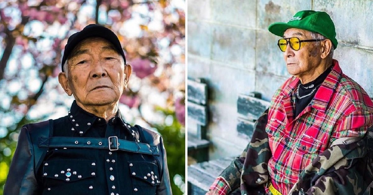 m3.jpg?resize=1200,630 - An 84-Year-Old Japanese Grandpa Won Instagram Fame As A Model After His Grandson Dressed Him Up For Fun