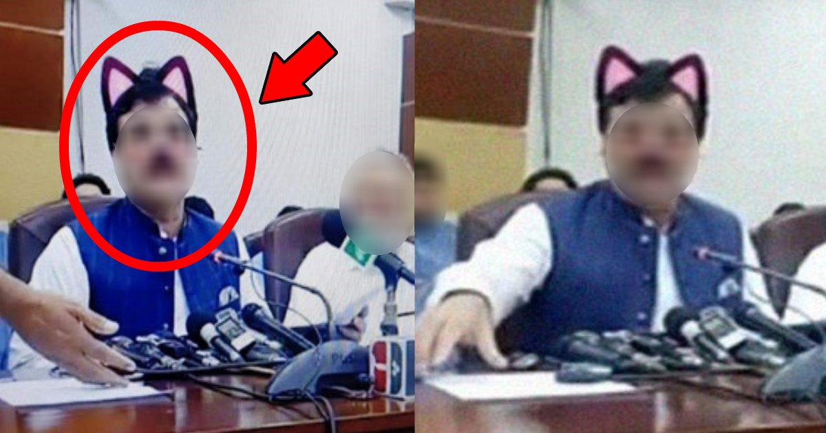 nekomimi.png?resize=412,232 - 記者会見で放送事故?「猫耳大臣」に扮したまま生中継され瞬く間に拡散!(笑)
